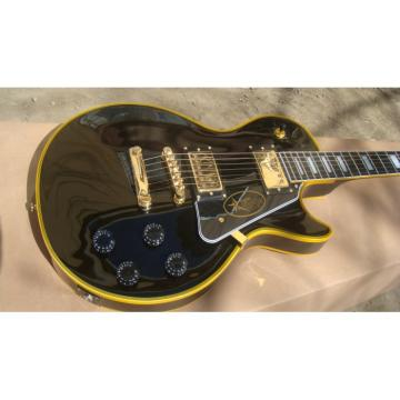 Custom Shop guitarra Black Beauty Yellow Accent Electric Guitar
