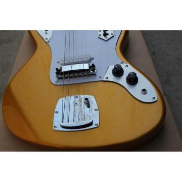 Custom Shop Kurt Cobain Gold Jaguar Jazz Master Electric Guitar