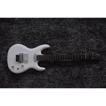 Custom Shop JS2400 Joe Satriani White Double Roll Electric Guitar