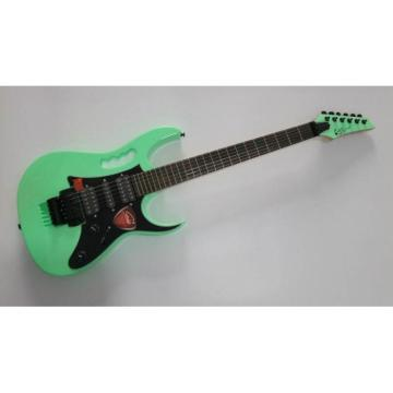 Custom Shop Jem 7V Neon Mint Green Electric Guitar