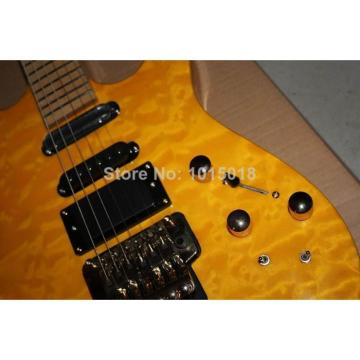 Custom Shop Jackson SL2H Soloist Yellow Ripples Electric Guitar