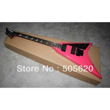 Custom Shop Jackson Pink Electric Guitar