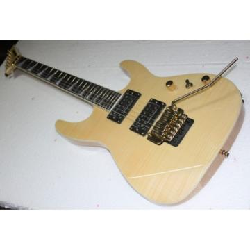 Custom Shop Jackson Dinky Soloist Cream Electric Guitar