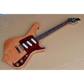 Custom Shop Ibanez Natural Gloss Paul Gilbert Electric Guitar