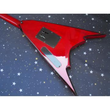 Custom Shop Jackson Red Flying V Electric Guitar