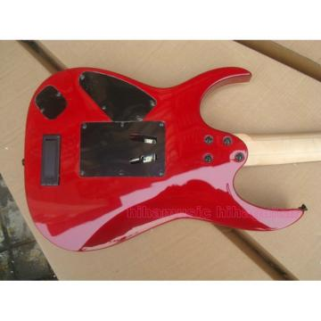 Custom Shop Ibanez Jem 7 Vai Red Electric Guitar