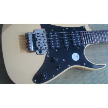 Custom Shop Ibanez Jem 7 Vai Cream Electric Guitar