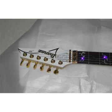 Custom Shop Ibanez Acrylic Purple LED Light Electric Guitar