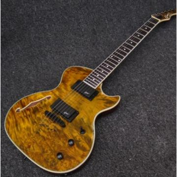 Custom Shop Grote 6 String Golden Electric Guitar