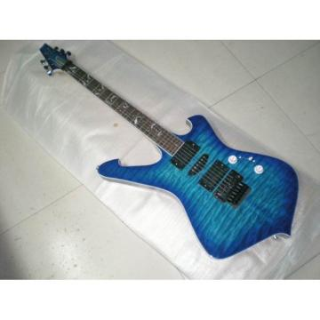 Custom Shop Ibanez Blue Wave FRM250FM Electric Guitar
