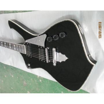 Custom Shop Ibanez Black Iceman Electric Guitar