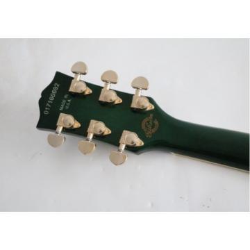Custom Shop Green Maple Flame 6 String Standard Electric Guitar