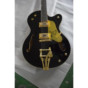 Custom Shop Gretsch G6136TBK The Black Falcon Electric Guitar