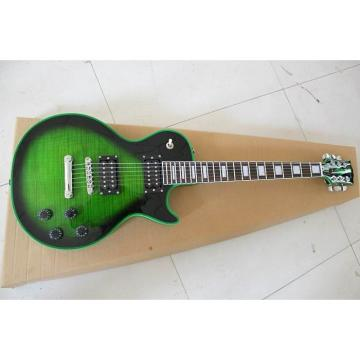 Custom Shop Green Flame Maple Top Electric Guitar