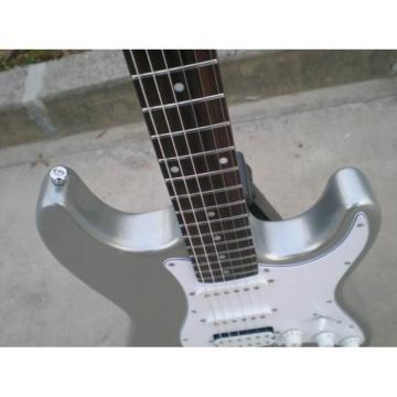Custom Shop Gray Slick Silver Stratocaster Electric Guitar