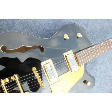 Custom Shop Gretsch Falcon Black Electric Guitar