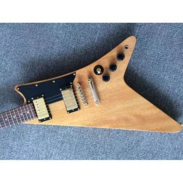 Custom Shop Flying V 1958 Classic Natural Finish Electric Guitar