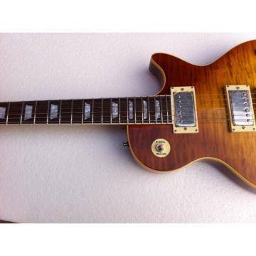 Custom Shop Flame Maple Top Iced Tea Electric Guitar
