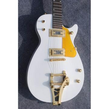 Custom Shop Florentine Gretsch White Electric Guitar