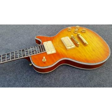 Custom Shop Flame Maple Top Sunburst Electric Guitar
