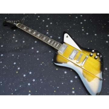 Custom Shop Firebird Natural Burst Electric Guitar