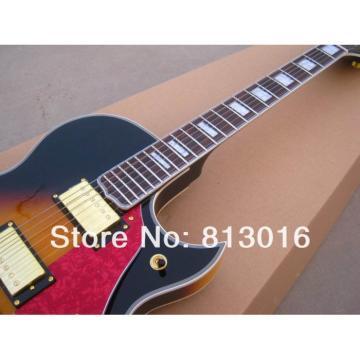 Custom Shop Fhole Tobacco Jazz Electric Guitar