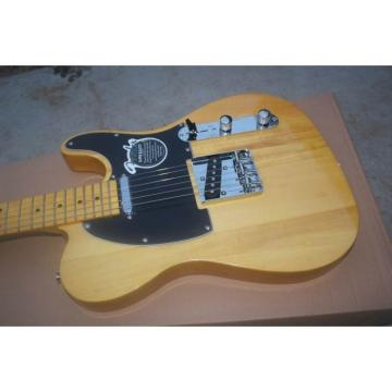 Custom Shop Fender Natural Wood Electric Guitar