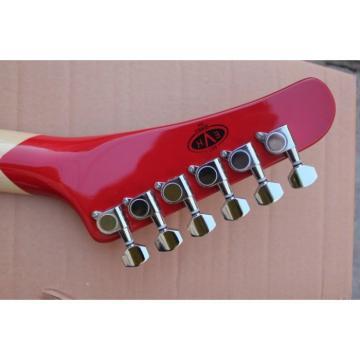 Custom Shop EVH Kramer Bigsby 5150 Black White Stripes Electric Guitar
