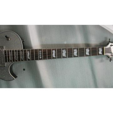 Custom Shop ESP Silver Dust Sparkle Electric Guitar