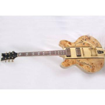 Custom Shop ES335 Spalted Natural Maple Veneer Electric Guitar