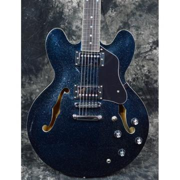 Custom Shop ES 335 Sapphire Blue Jazz Electric Guitar