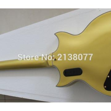Custom Shop ES 335 Bigbys Gold LED Jazz Electric Guitar