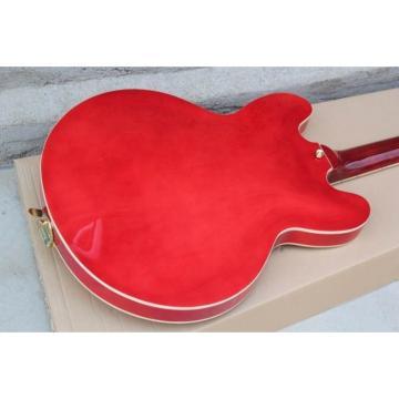 Custom Shop Cherry Flame Maple Top ES335 LP Electric Guitar
