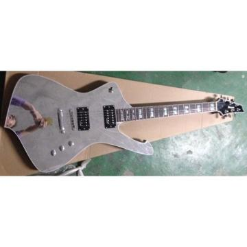 Custom Shop Crystal Iceman Ibanez Electric Guitar Paul Stanley Wilkinson Parts