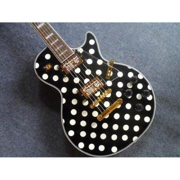 Custom Shop Black Polkadots LP Electric Guitar