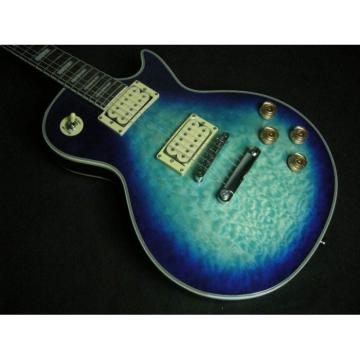 Custom Shop Blue Quilt Maple Top Standard Electric Guitar