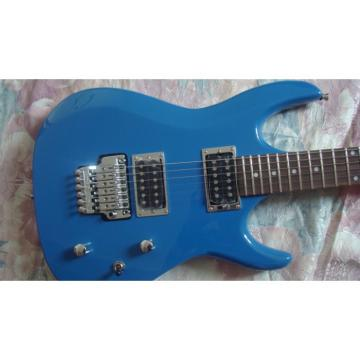 Custom Shop Blue Ibanez Jem 7 Electric Guitar