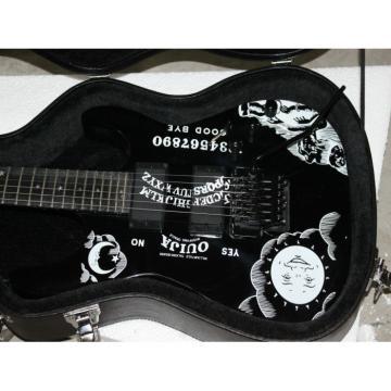 Custom Shop Black Kirk Hammett Ouija Electric Guitar