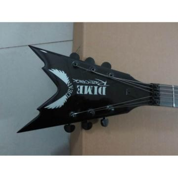 Custom Shop Black Razorback Dime Dean Electric Guitar