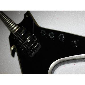 Custom Shop Black Dean Strange Electric Guitar
