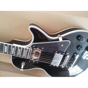 Custom Shop Black Beauty Chrome Hardware Electric Guitar
