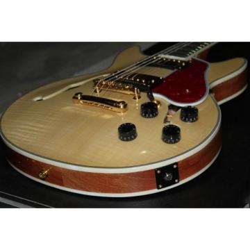 Custom Shop Arctic Natural ES335 LP Electric Guitar