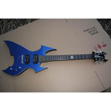 Custom Shop Avenge Blue BC Rich Electric Guitar