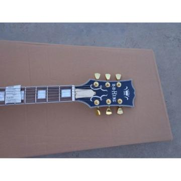 Custom Shop BB King Lucille Blue Jazz Electric Guitar