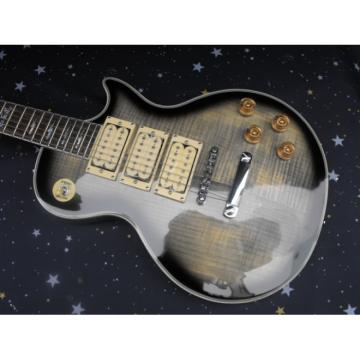 Custom Shop Ace Frehley Silver Burst LP Maple Top Electric Guitar