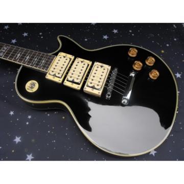 Custom Shop Ace Frehley LP Black Electric Guitar