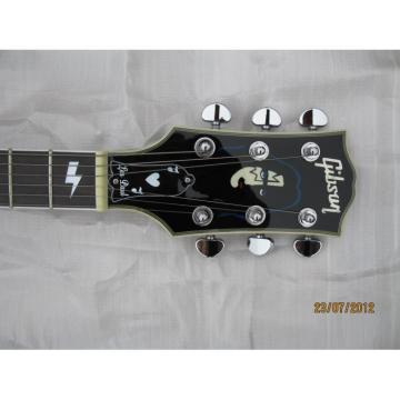 Custom Shop Ace Frehley Blue LP Electric Guitar