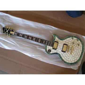 Custom Shop Abalone Exotic Electric Guitar MOP
