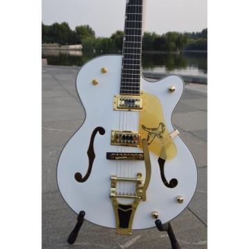 Custom Shop 6120 Setzer Nashville White Falcon Electric Guitar