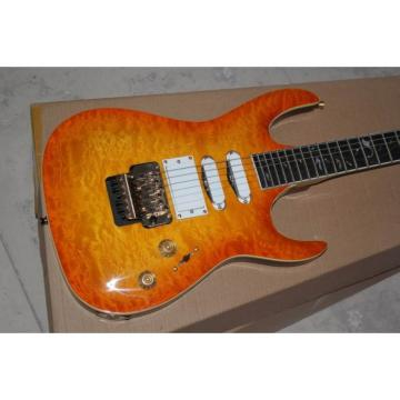 Custom Shop 3 Pickups Orange Pensa Floyd Rose Electric Guitar